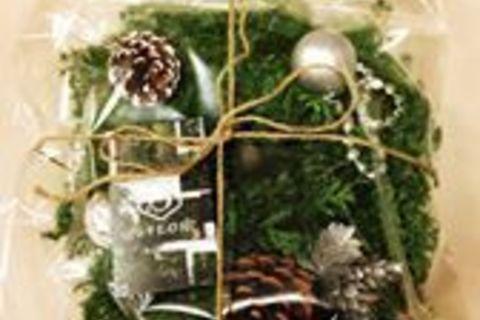 「クリスマスリースを作ろう!」